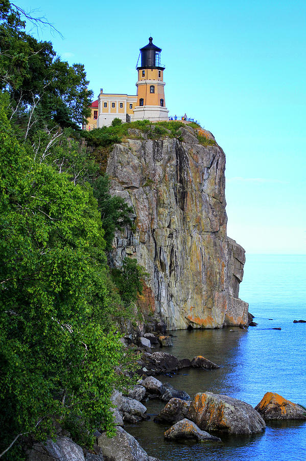 The Split Rock Lighthouse by Bonnie Follett