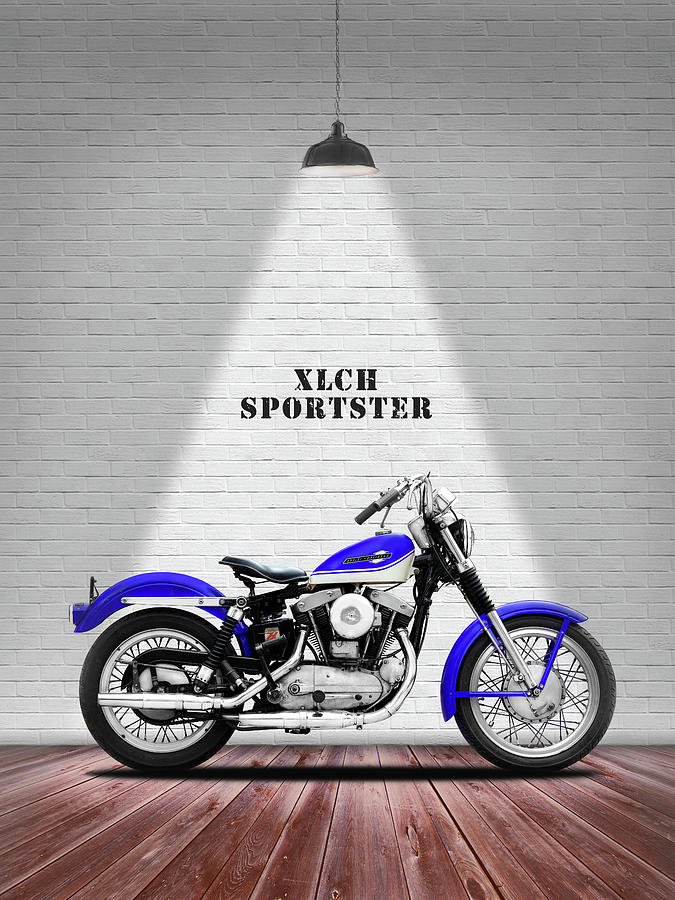 Xlch Photograph - The Sportster Vintage Motorcycle by Mark Rogan