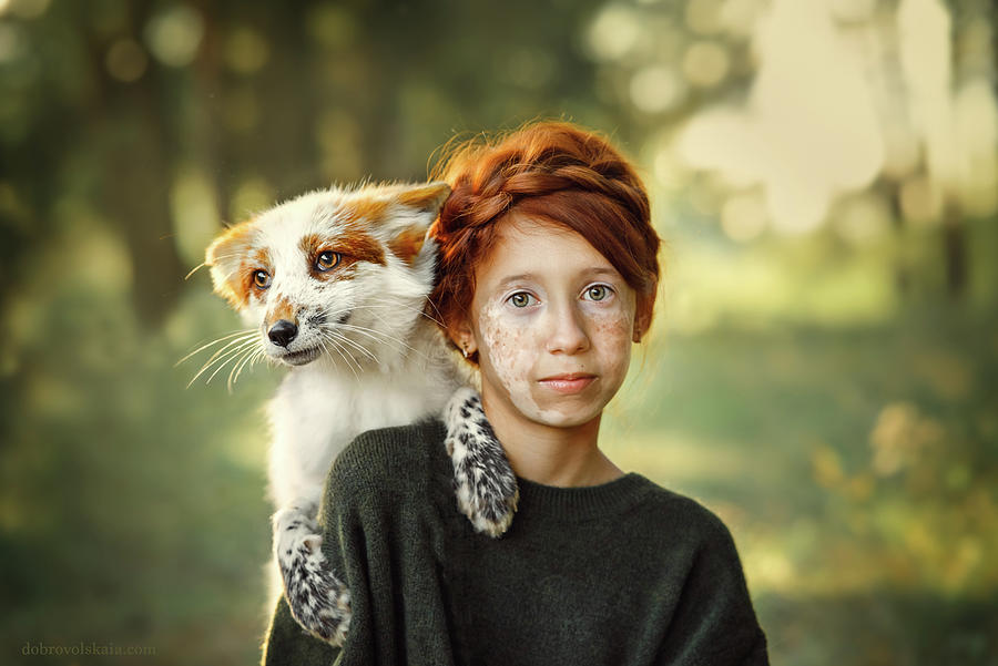 The Spots Photograph by Anastasiya Dobrovolskaya