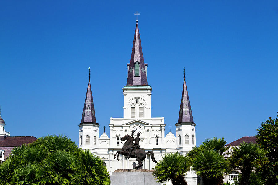 The St. Louis Cathedral Photograph by Photostock-israel