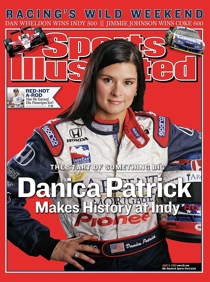 The Start Of Something Big Danica Patrick Makes History At Sports Illustrated Cover Photograph by Sports Illustrated