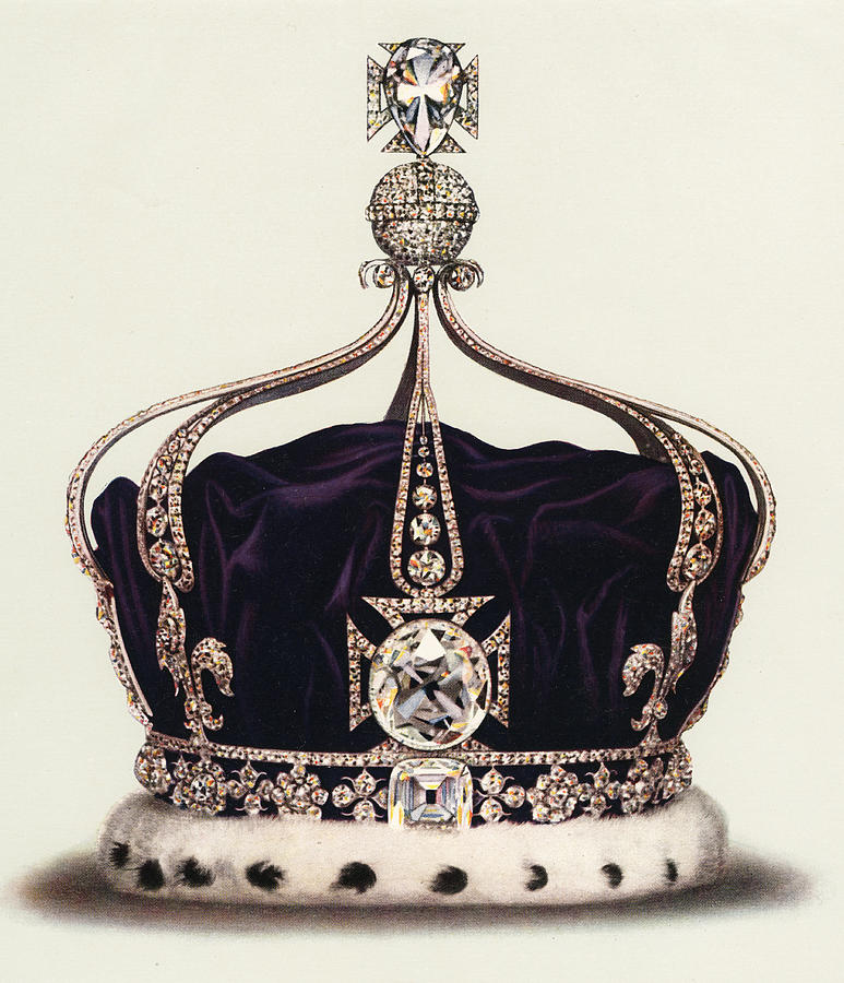 The State Crown Of Queen Mary Photograph by Graphicaartis