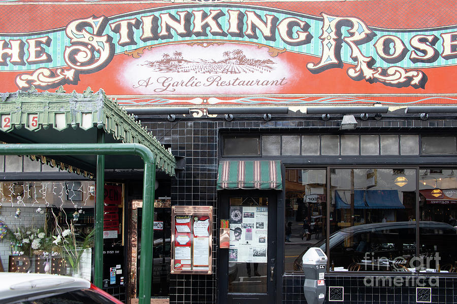 The Stinking Rose Restaurant In North Beach Little Italy San Francisco R116