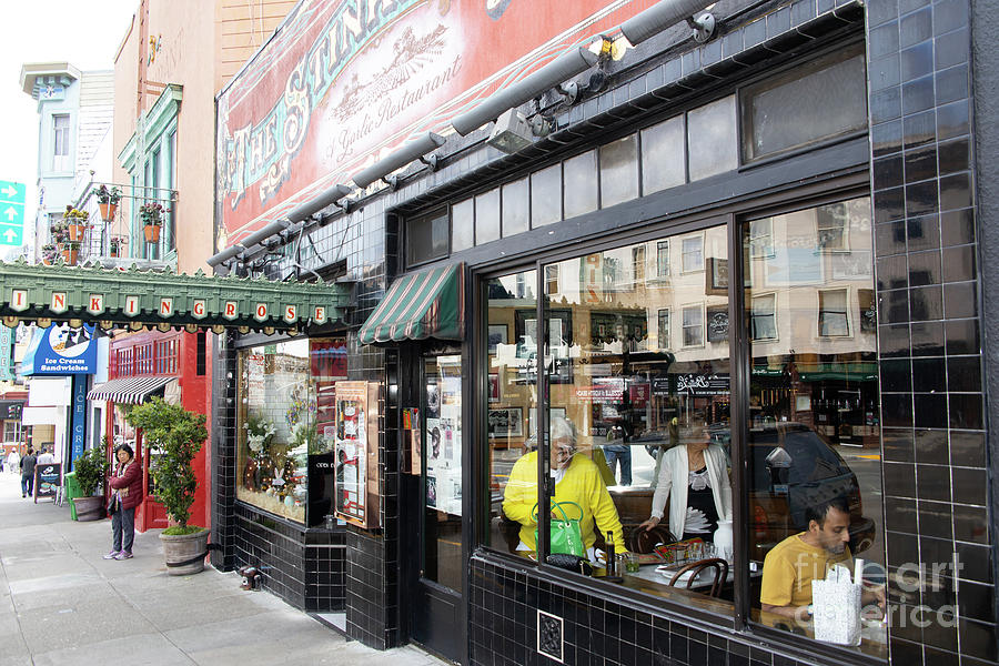 The Stinking Rose Restaurant In North Beach Little Italy San Francisco R328