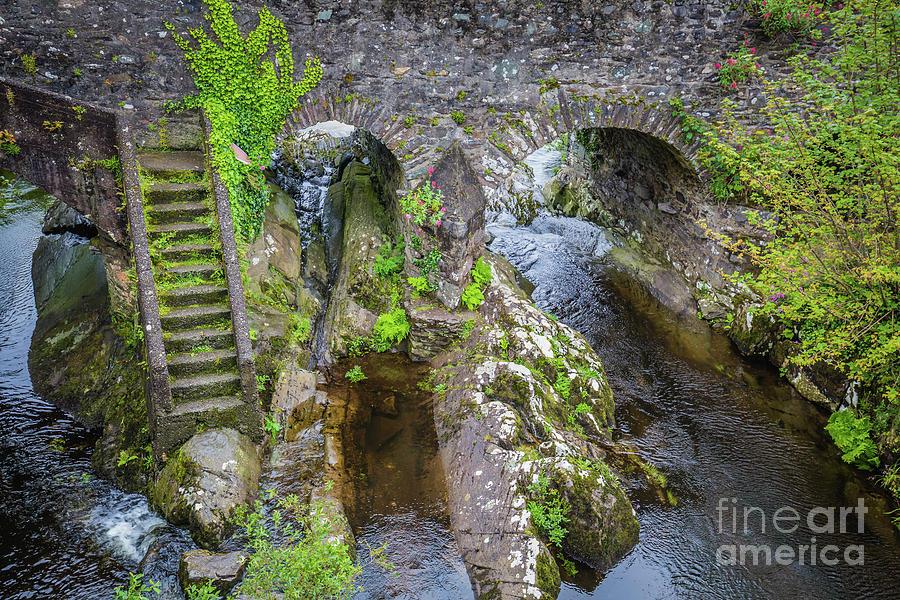 The Stone Bridge in Sneem by Eva Lechner