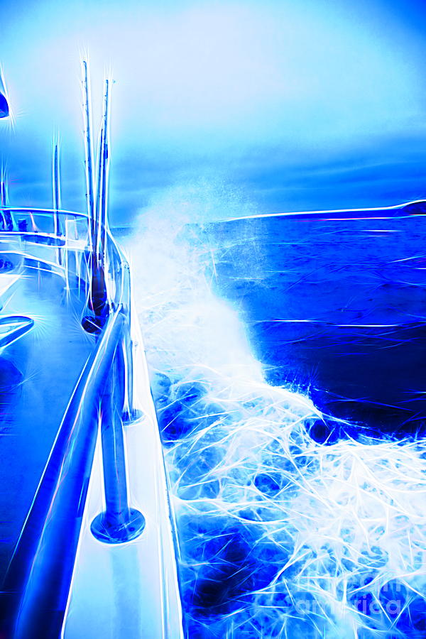 The Stormy Fishing Trip by Karen Silvestri