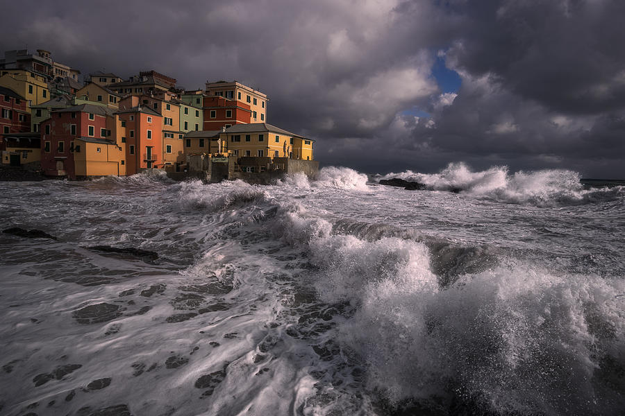 The Stormy Sea Photograph by Andrea Zappia