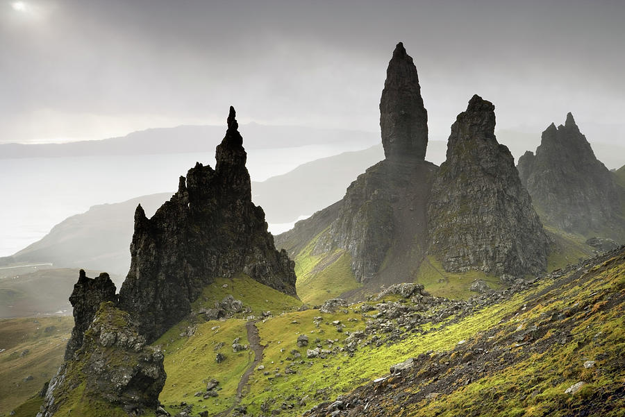 The Storr, Isle Of Skye, Scotland Photograph by Derek Croucher
