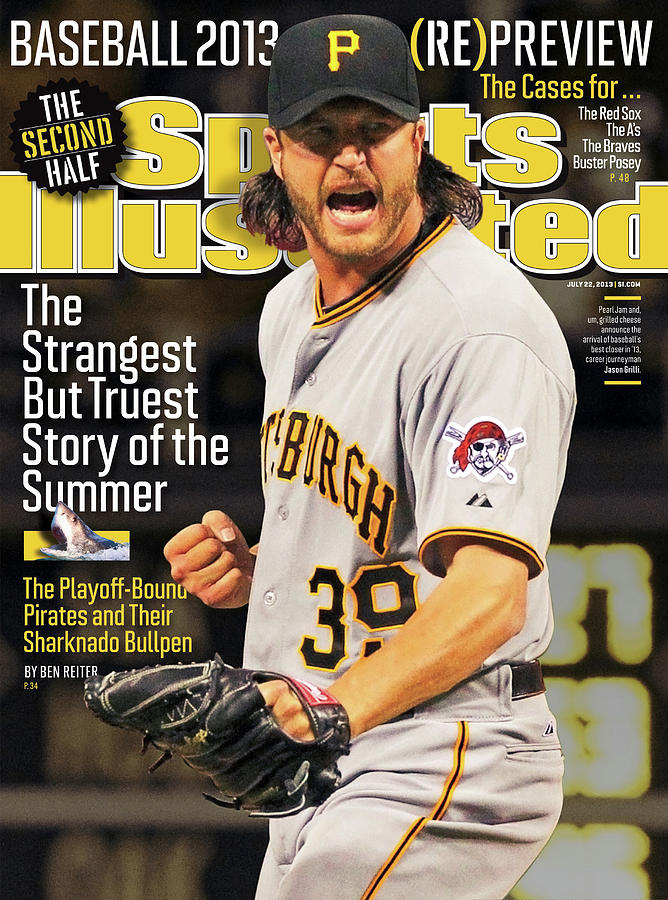 The Strangest But Truest Story Of The Summer Baseball 2013 Sports Illustrated Cover Photograph by Sports Illustrated