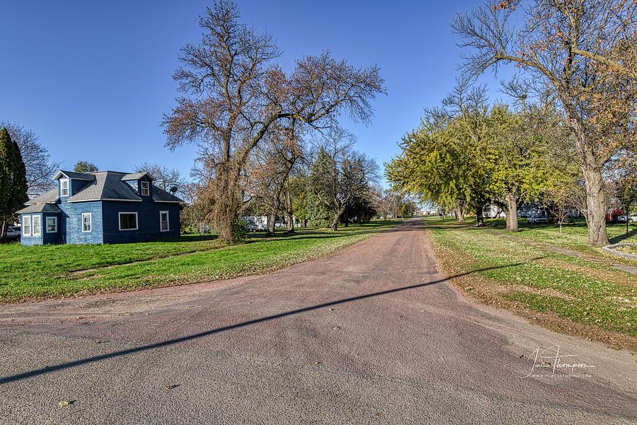 South Dakota Photograph - The Streets Of Bruce. by Jim Thompson