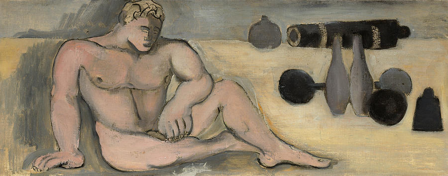 Marsden Hartley Painting - The Strong Man, 1923 by Marsden Hartley