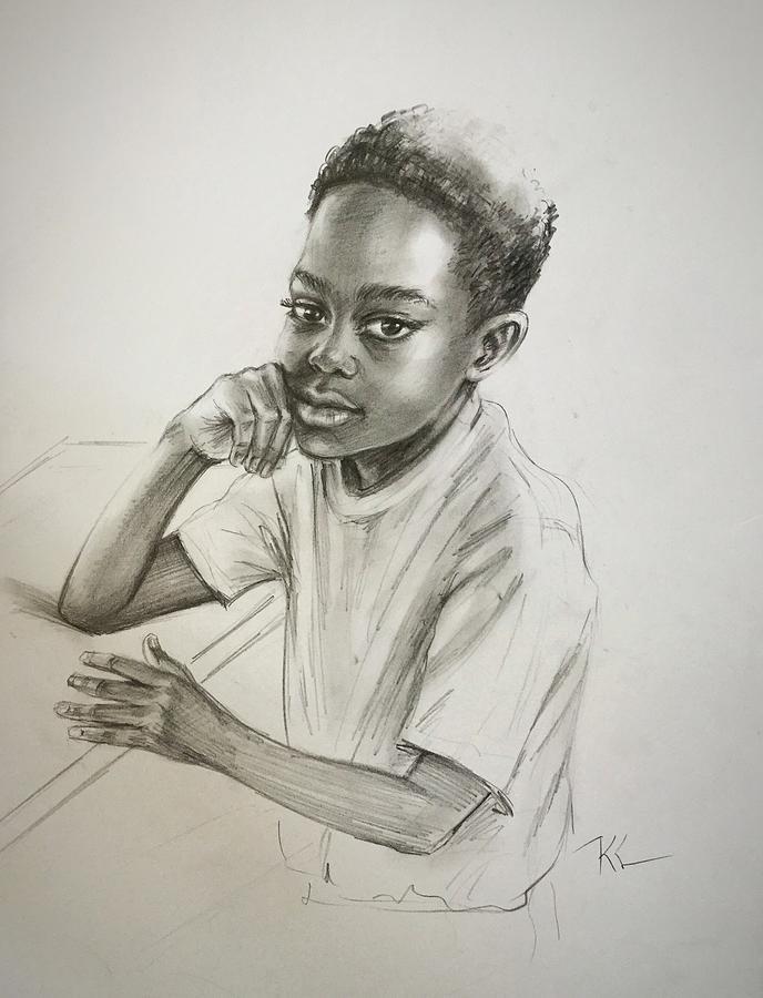 The student by Katerina Kovatcheva
