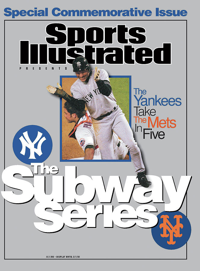 The Subway Series, 2000 World Series Sports Illustrated Cover Photograph by Sports Illustrated