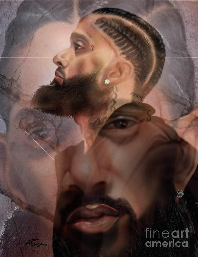 The Summation Nipsey Hussle by Reggie Duffie