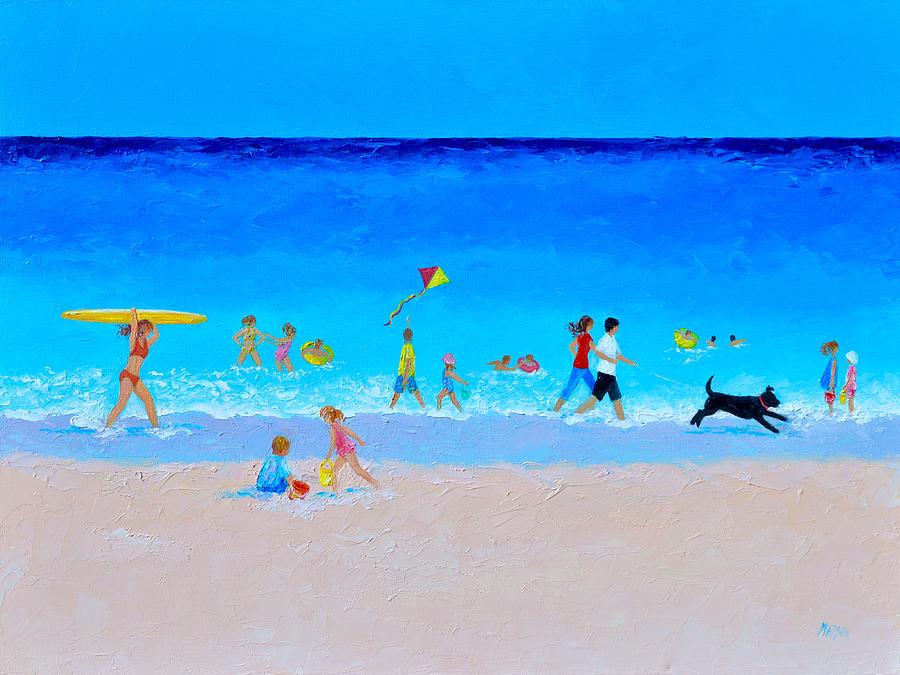 The Sunny Beach Parade by Jan Matson
