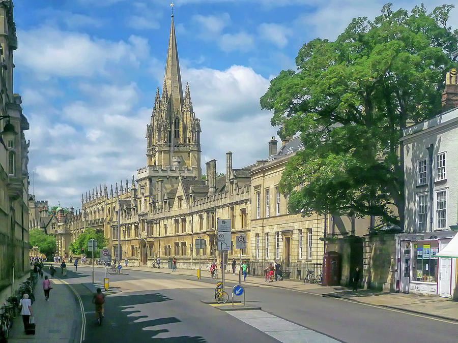 The Sunny Side of the Street - Oxford UK by Tony Crehan