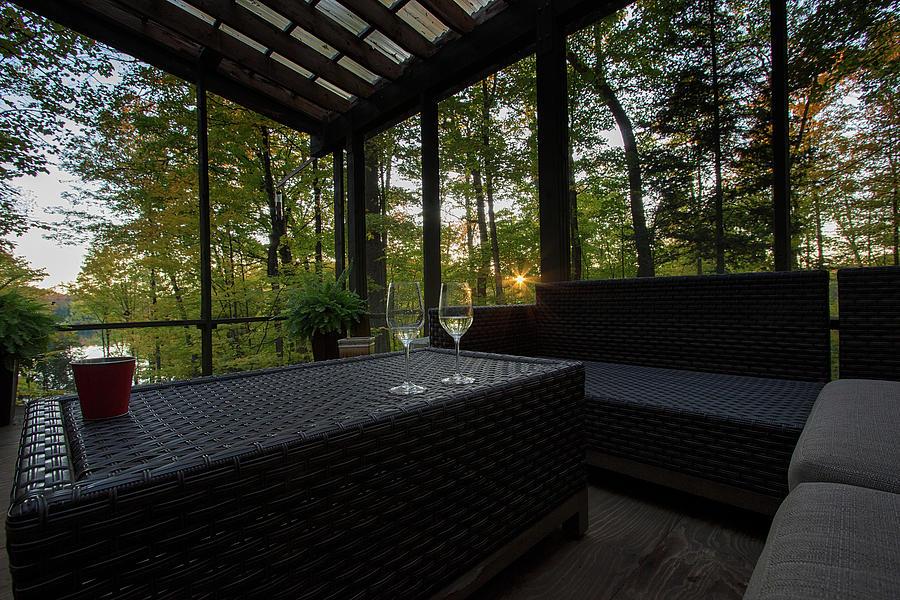 The Sunroom - Horseshoe Lake - Minden - Ontario, Canada by Spencer Bush