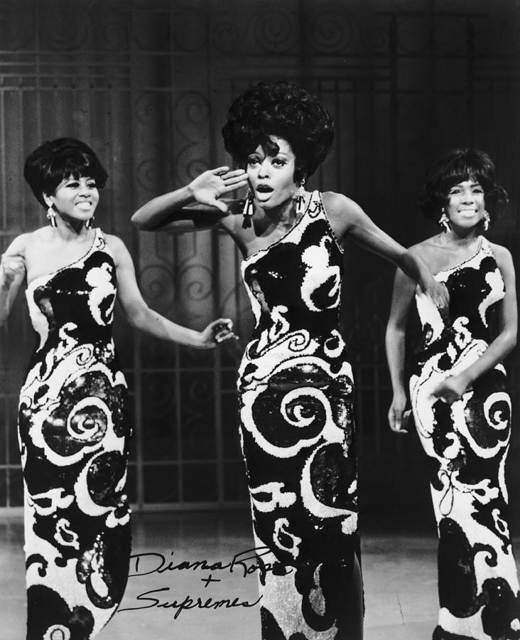 The Supremes Photograph by Archive Photos