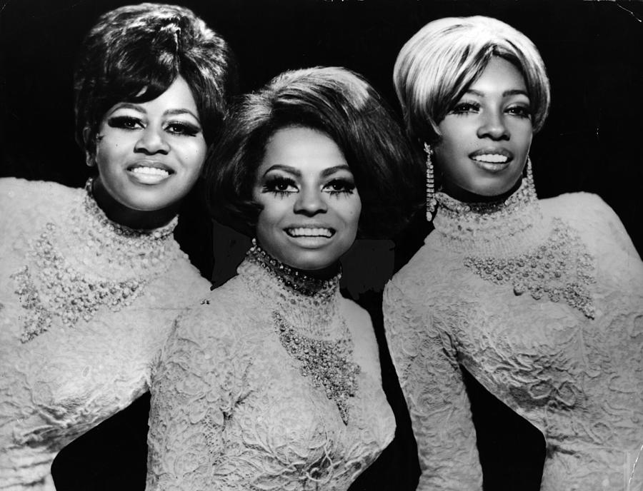 The Supremes Photograph by Evening Standard
