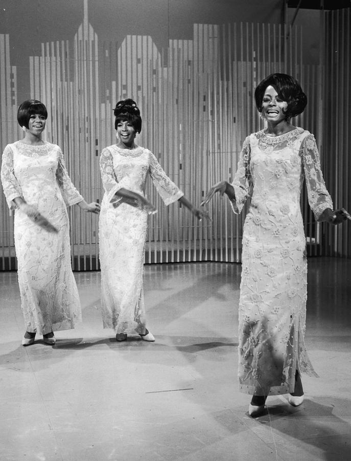 The Supremes Photograph by Hulton Archive