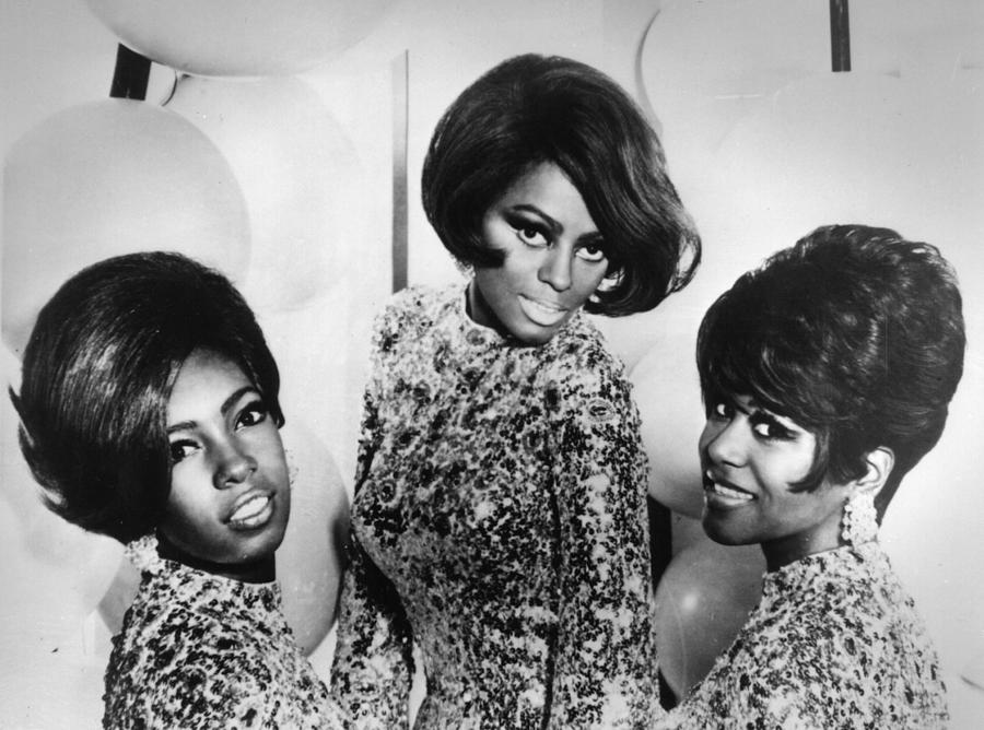 The Supremes Photograph by Keystone