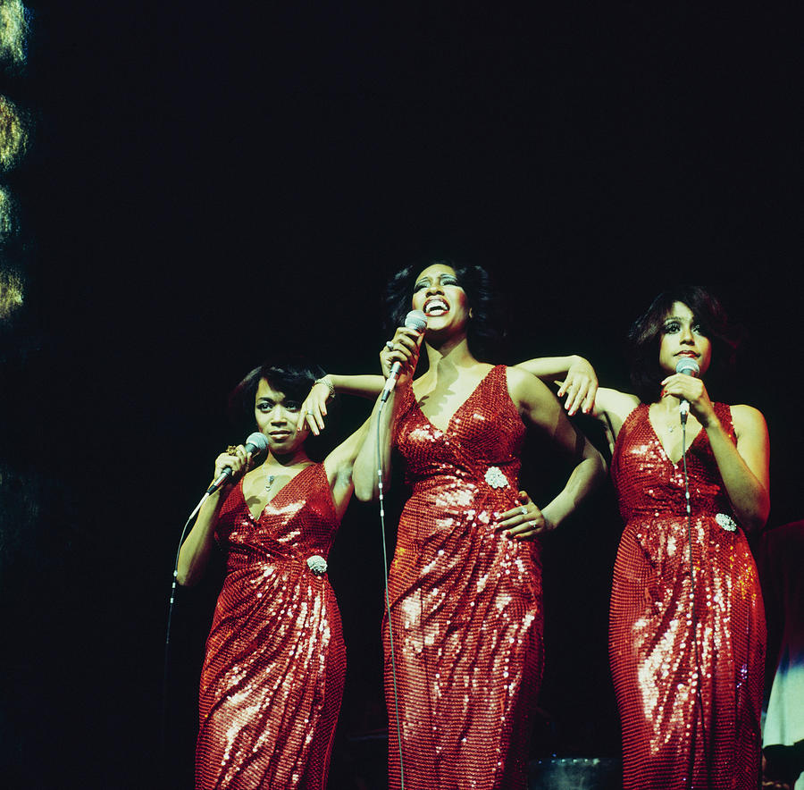 The Supremes Perfom On Stage Photograph by David Redfern