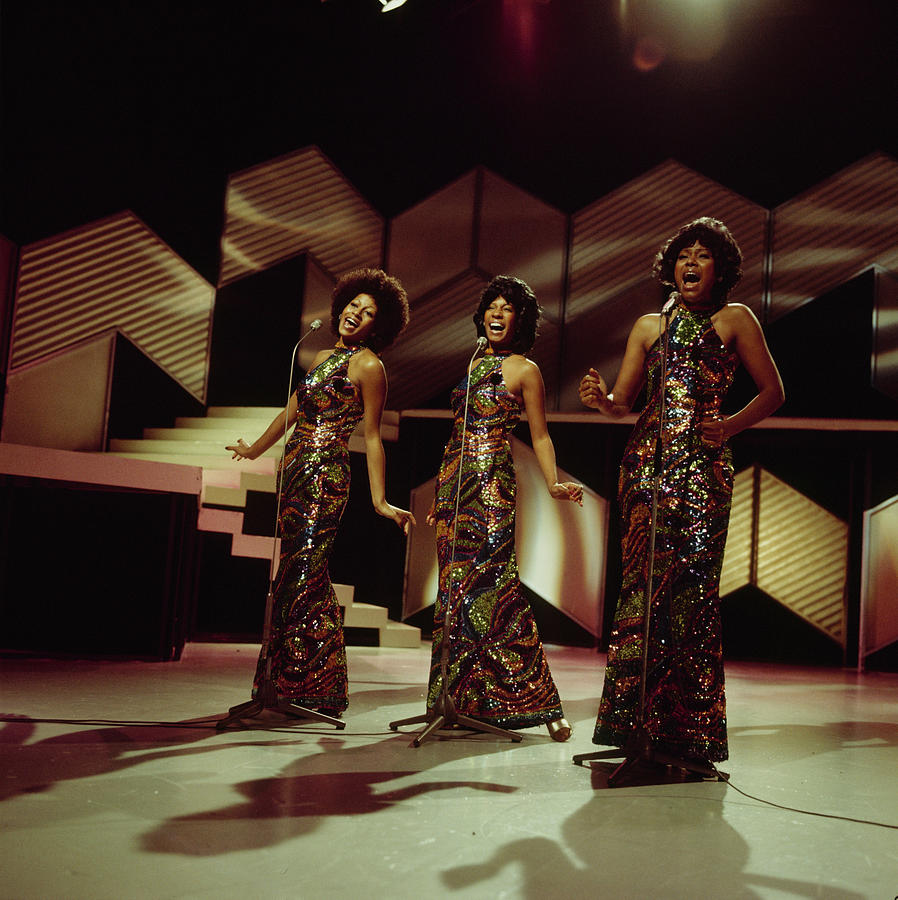 The Supremes Perfom On Tv Show Photograph by Tony Russell