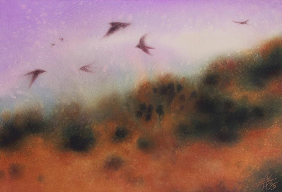 The Swallows Return  by Robin Street-Morris