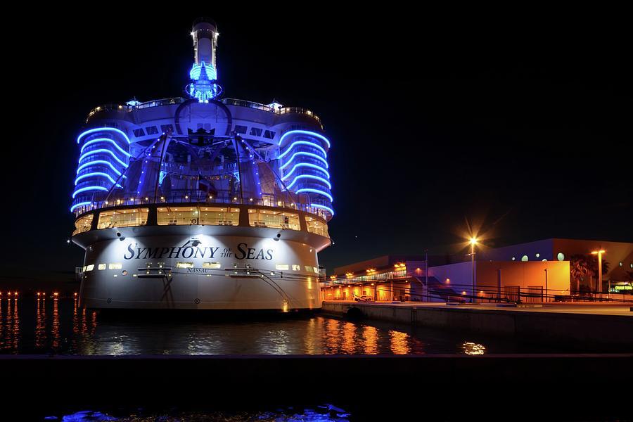 Symphony of the Seas at Night by Bradford Martin