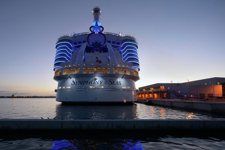 The Symphony of the Seas at Twilight by Bradford Martin