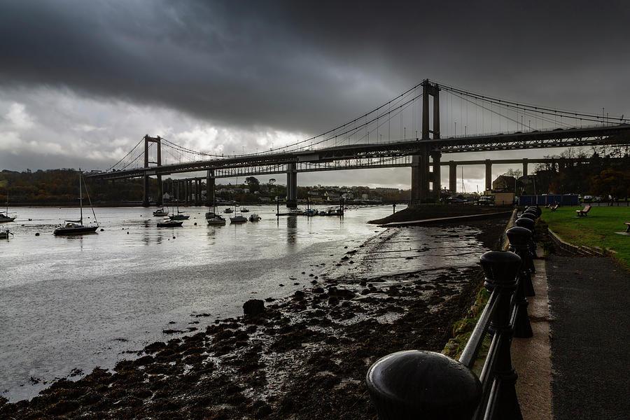 The Tamar Bridge. by Maggie McCall