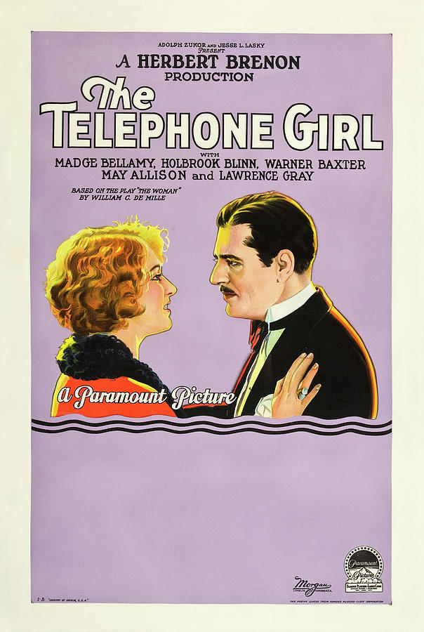 The Telephone Girl by Paramount Pictures