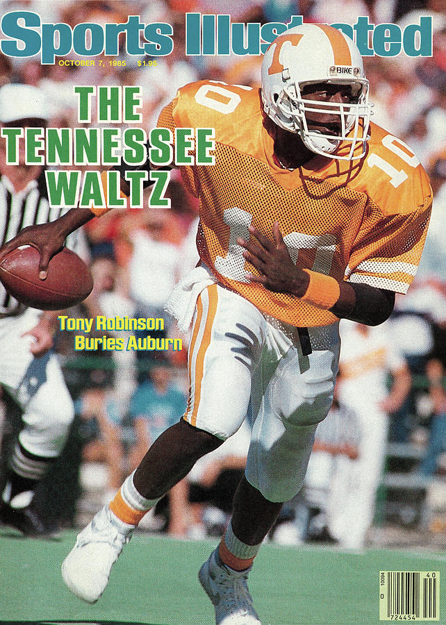The Tennessee Waltz Tony Robinson Buries Auburn Sports Illustrated Cover Photograph by Sports Illustrated
