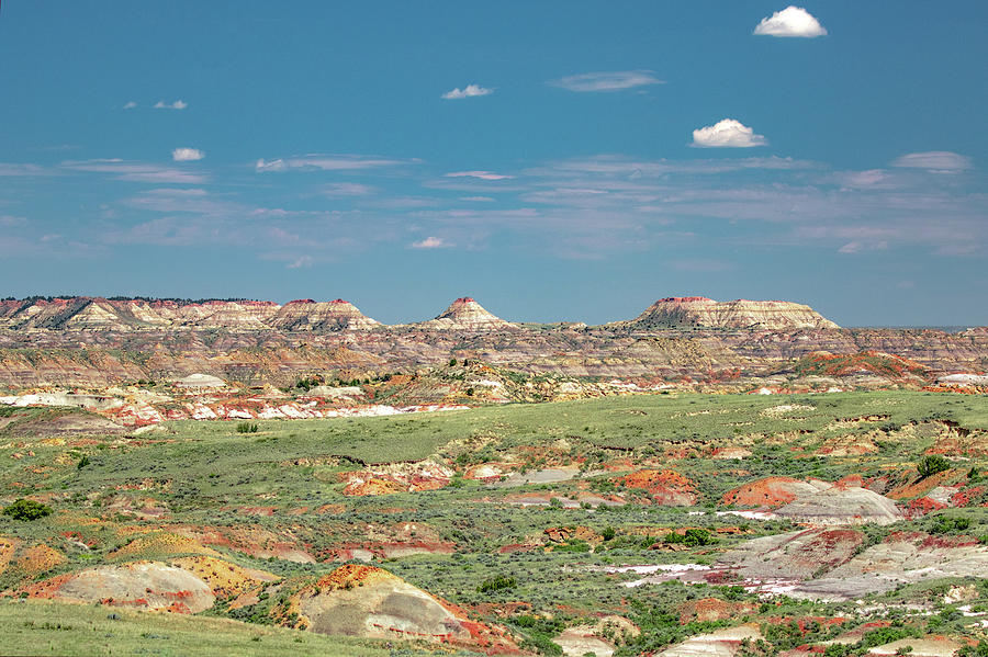 Terry Badlands Photograph - The Terry Badlands by Todd Klassy