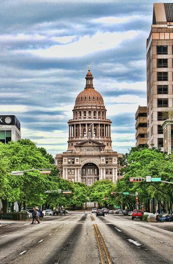 The Texas State Capitol Building # 3 by Allen Beatty