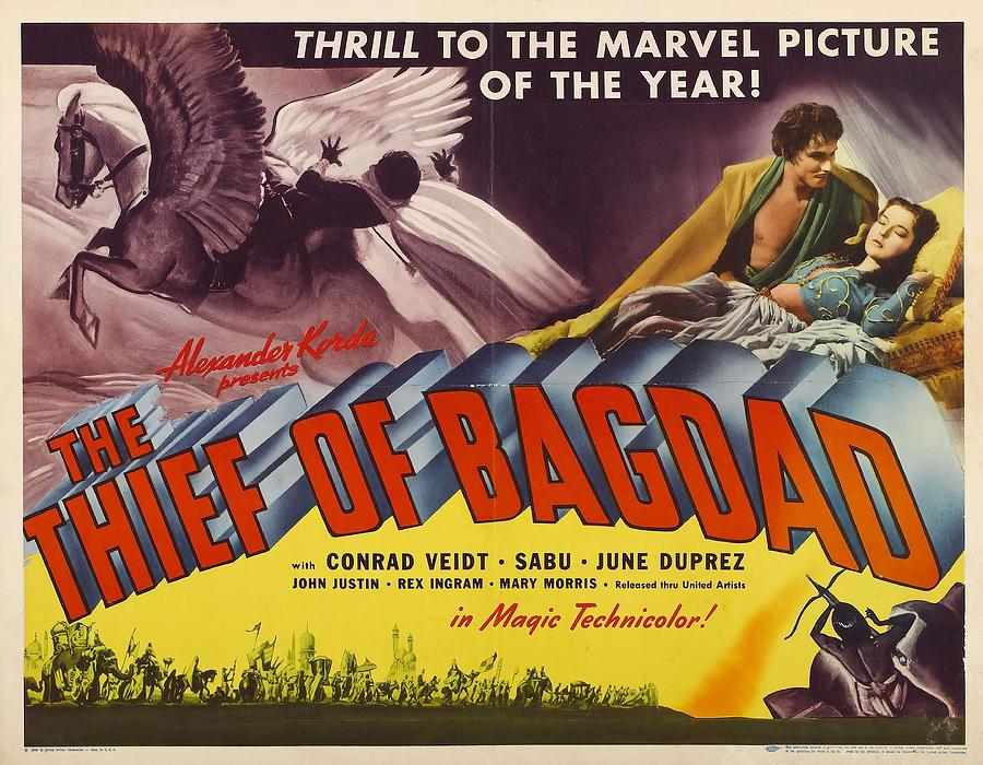 The Thief Of Bagdad -1940-. Photograph by Album