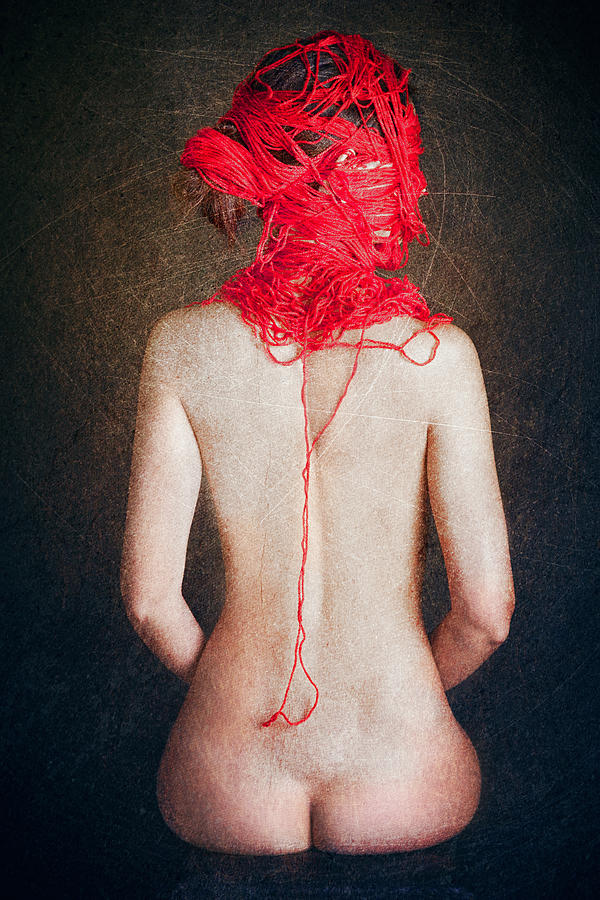 Red Photograph - The Thin Red Rope II by Igor Genovesi