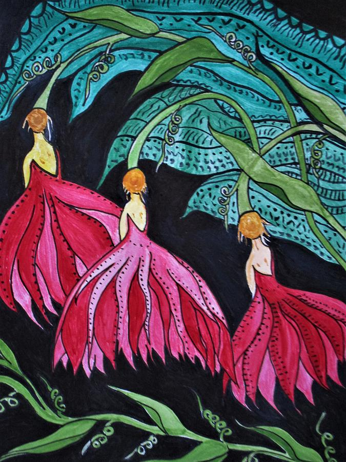 The Three Graces by Rosita Larsson