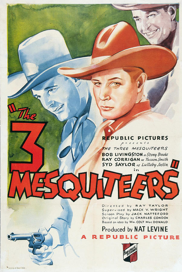 The Three Mesquiteers by Republic Pictures