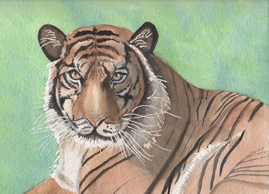 The Tiger in Spring by Dorothy Riley