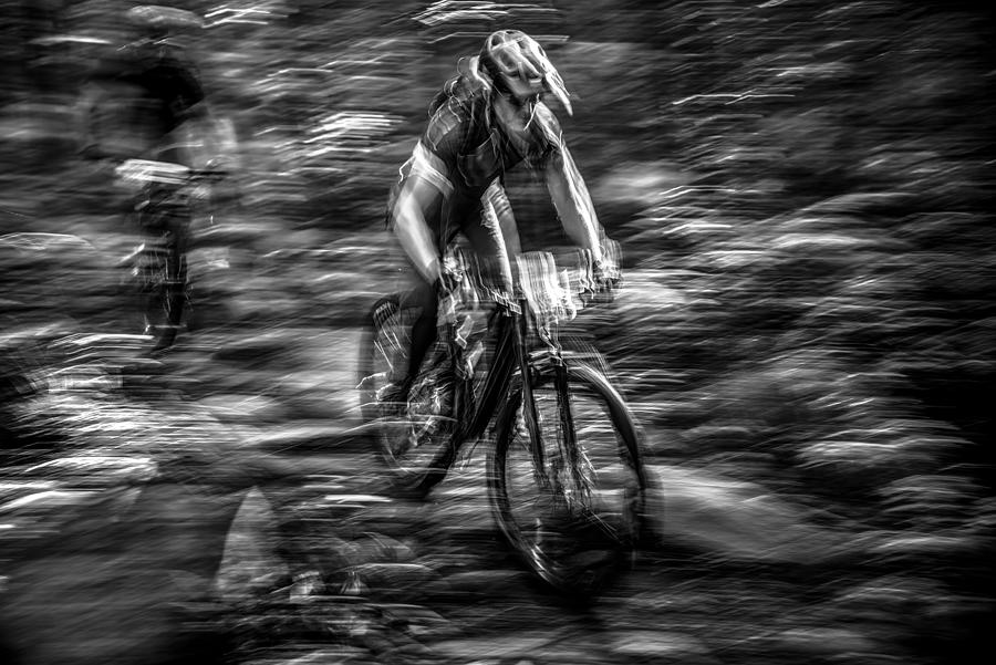 Sport Photograph - The Time Hunter by Benny Pettersson