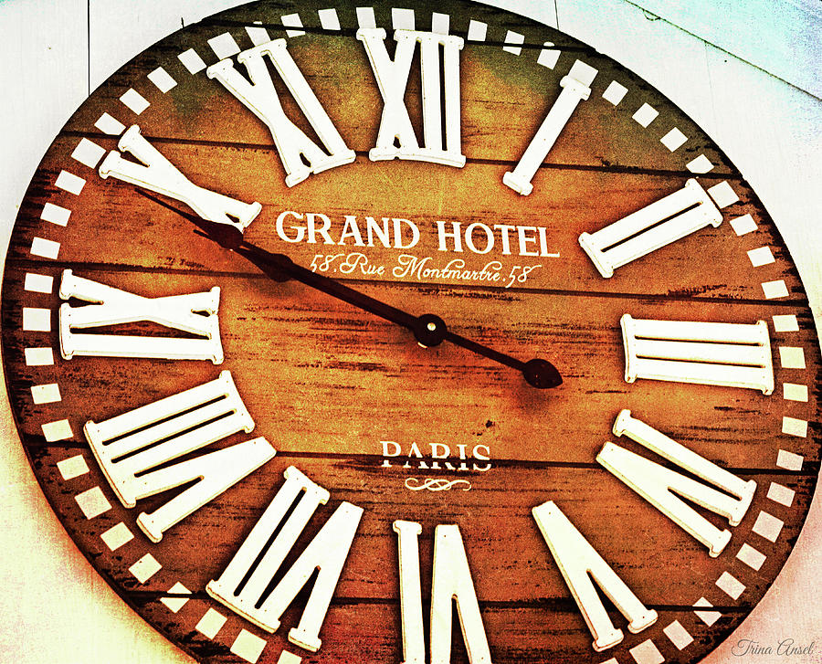 The Time in Paris by Trina Ansel
