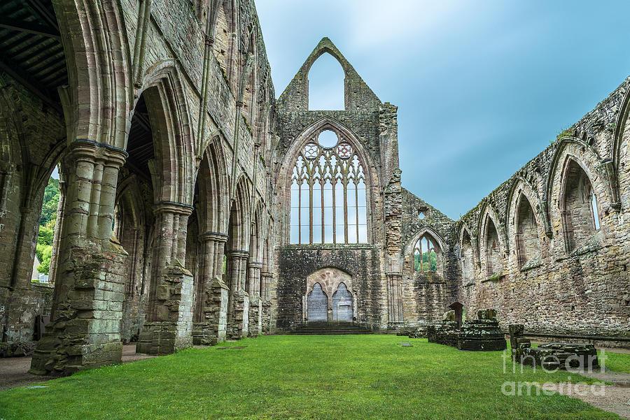 Tintern Photograph - The Tintern Abbey Church, First by Matthi