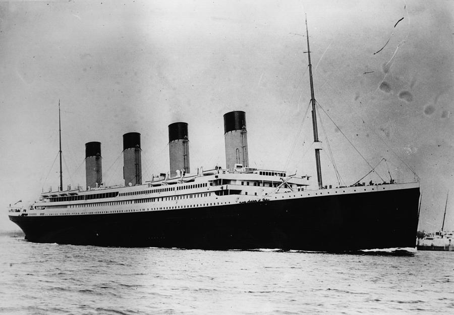 The Titanic Photograph by Central Press