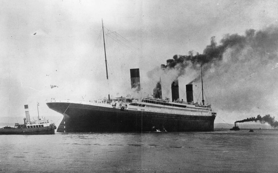 The Titanic Photograph by Topical Press Agency