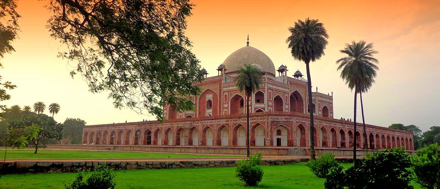 The Tomb Of Humayun Photograph by Smit Sandhir