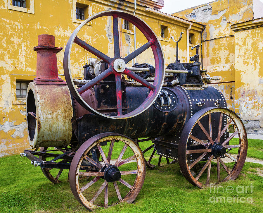 The Traction Engine, Former Ushuaia Prison, Argentina by Lyl Dil Creations