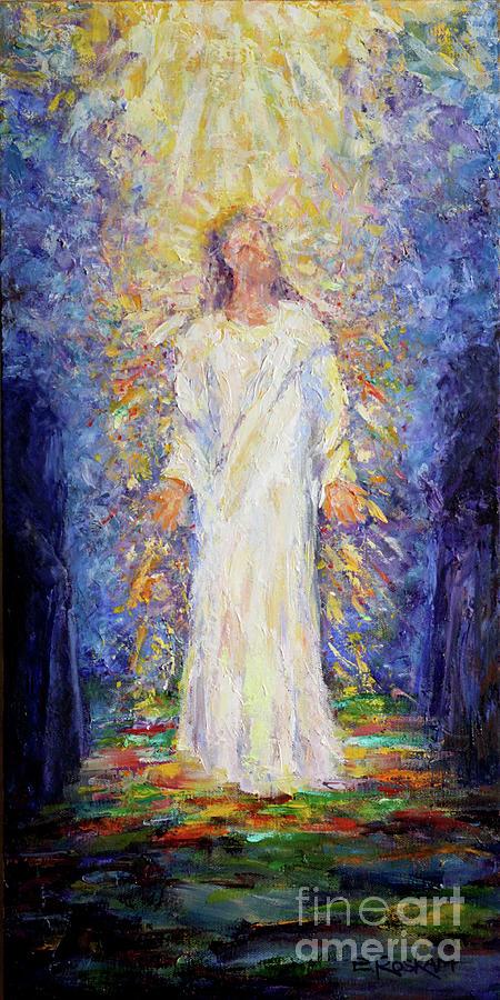 Transfiguration Painting - The Transfiguration by Elizabeth Roskam