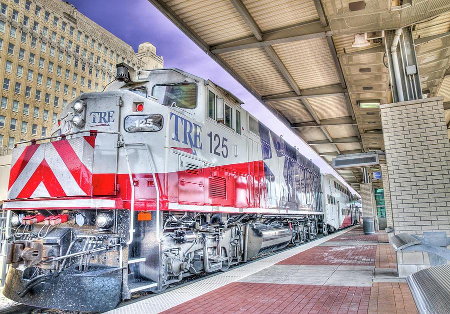 The Trinity Railway Express TRE by Robert Bellomy