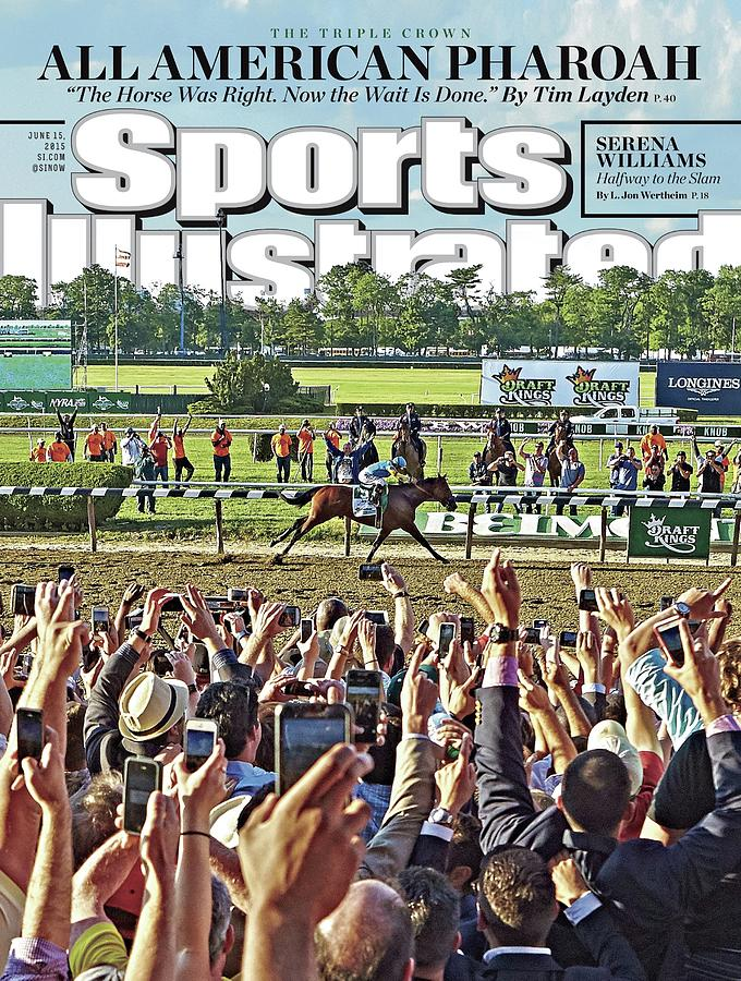 The Triple Crown All American Pharoah Sports Illustrated Cover Photograph by Sports Illustrated